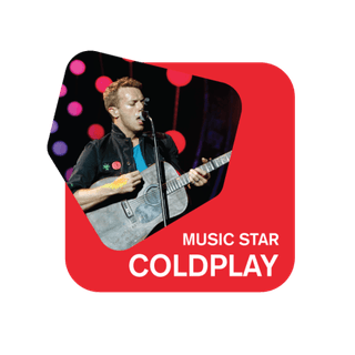 105 Music Star: Coldplay